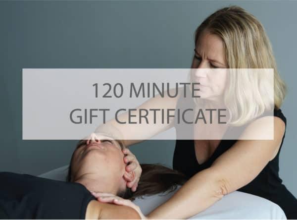 120 minute gift cert